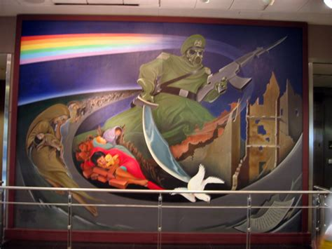 denver airport coffin murals denver airport mural by devinemrs quot the anomalies of what