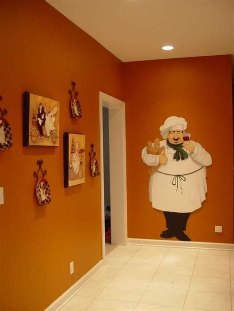 wall sticker to add to chef collection in the kitchen