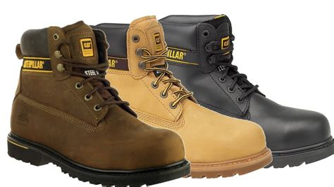 Boat Safety Videos Free by Caterpillar Holton S3 Work Boots North Sea Workwear