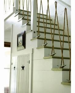 Geländer Mit Seil : seil dekoration passt zu jedem raum treppe gel nder originell f r peter pinterest haus ~ Markanthonyermac.com Haus und Dekorationen