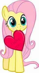 Fluttershy says Happy Hearts and Hooves Day! by Loving ...