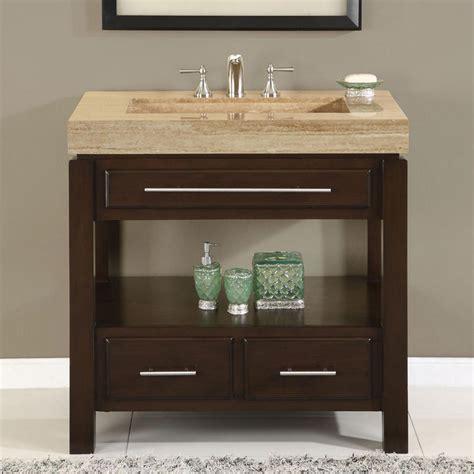 36 perfecta pa 5522 bathroom vanity single sink cabinet walnut finish bathroom