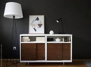 Ikea Hack Besta : ikea besta mid century modern cabinet hack petite apartment ~ Markanthonyermac.com Haus und Dekorationen