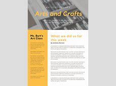 Customize 719+ Newsletter templates online Canva