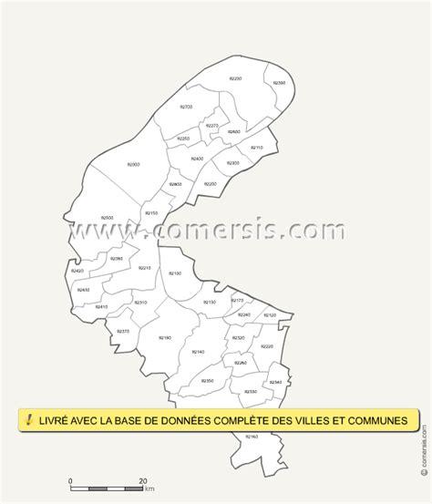 carte des codes postaux des hauts de seine