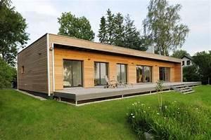 Fertighaus Bungalow Holz : fertighaus energiesparhaus holz kosten ~ Markanthonyermac.com Haus und Dekorationen