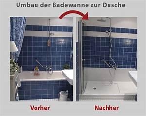 Umbau Wanne Zur Dusche : dusche statt badewanne umbau der badewanne in 8 std ~ Markanthonyermac.com Haus und Dekorationen