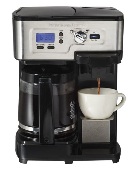 2 Way FlexBrew Coffeemaker   Hamilton Beach