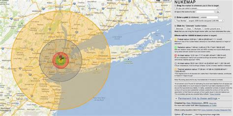 this scary interactive map shows what happens if a nuke explodes in your neighborhood business
