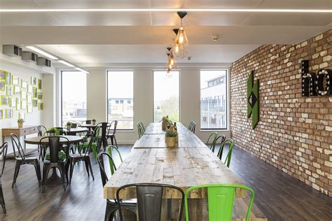 A Tour Of Houzz's New European Headquarters  Break Room