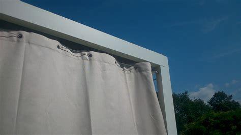 un rideau d ext 233 rieur est un excellent brise vue r 233 tractable