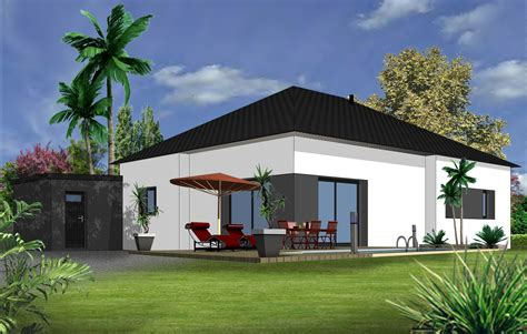 modele de maison plain pied moderne maison moderne
