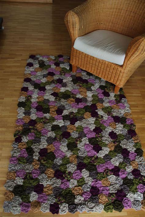 tapis de fleurs pointes de folie