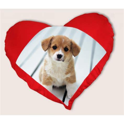 coussin coeur personnalis 233 id 233 e de cadeau pour amoureux coussin imprim 233 avec photo