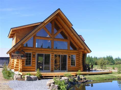 milled log houses mod 232 le alaska patriote maison bois rond maison en rondins