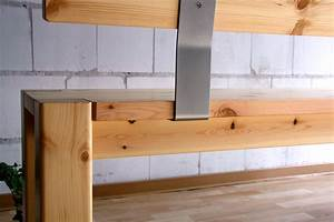 Küchenbank Mit Rückenlehne : sitzbank 160x86x47cm mit r ckenlehne kiefer massiv gelaugt ge lt ~ Whattoseeinmadrid.com Haus und Dekorationen