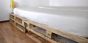 Palettenbett Selber Bauen : wir bauen ein bett aus einwegpaletten m bel blog ~ Markanthonyermac.com Haus und Dekorationen