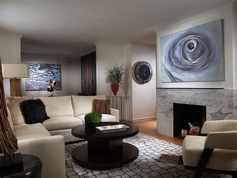 Modern Living Room Paintings : Mid Century Modern Living Room