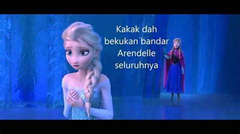 For The First Time In Forever (reprise) [bahasa Malaysia