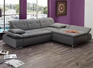 Couch L Form Grau : ecksofa vildana 290x218 grau couch verstellb r ckenlehne ot l o r sofa sofas ebay ~ Markanthonyermac.com Haus und Dekorationen