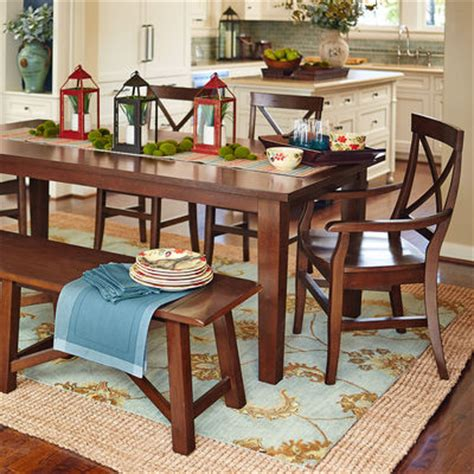 torrance dining set mahogany brown pier 1 imports