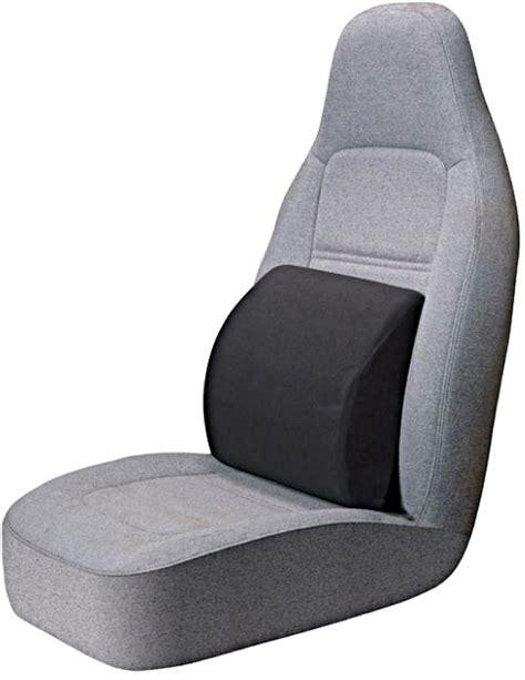 Amazoncom Portable Lumbar Seat Cushion  Black Automotive