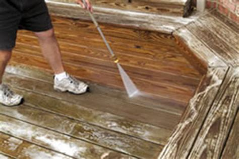 wood decks and wood deck cleaning paintpro magazine