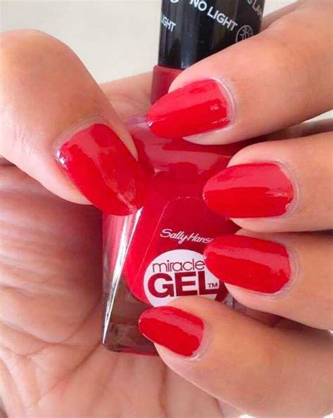 sally hansen gel nail without uv light miracle gel rhapsody for nail
