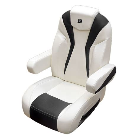 larson 15 lxi white carbon reclining boat captains seat