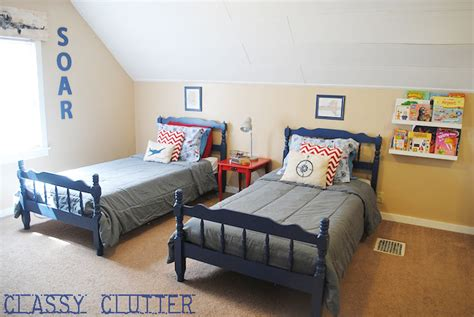 Little Boys' Airplane Room Makeover (on A Budget)-classy