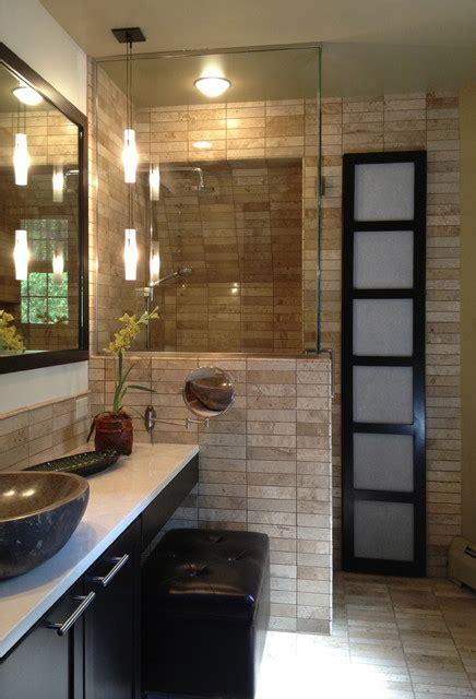 zen bathroom asian bathroom cedar rapids by monarch renovations