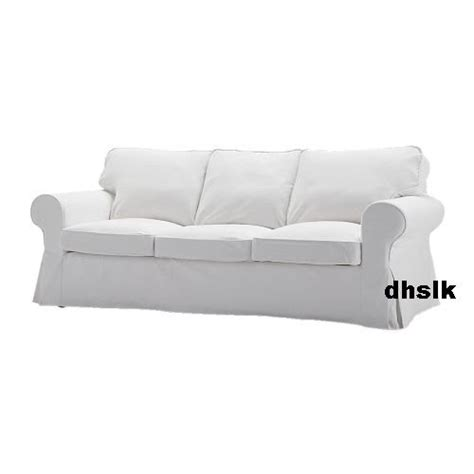 ikea ektorp 3 seat sofa slipcover cover blekinge white