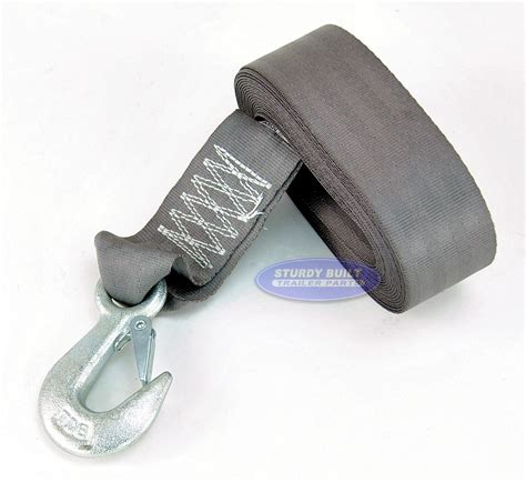 Boat Winch Strap Over Or Under by Boat Trailer Winch Strap Light Duty 2 Inch X 20ft With