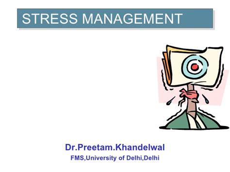 ob stress management