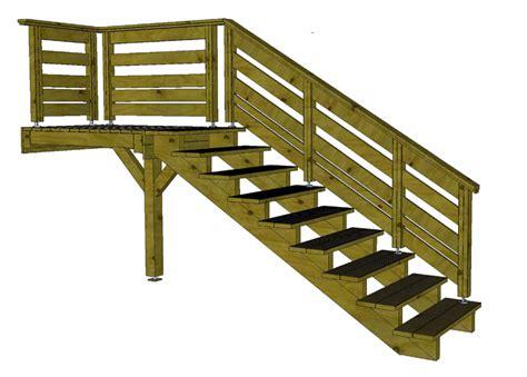 escalier terrasse bois obasinc