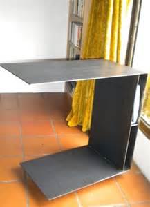table petit d 233 jeuner au lit paccard cr 233 ation de meubles en acier