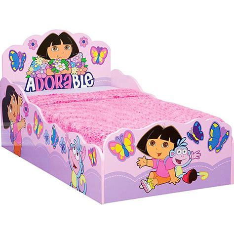 the explorer wooden bed toddler walmart
