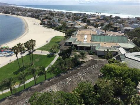 Catamaran Resort San Diego Breakfast by View From Tower Picture Of Catamaran Resort Hotel And