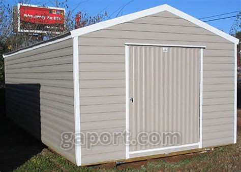 storage sheds can get your car back in the garage where it