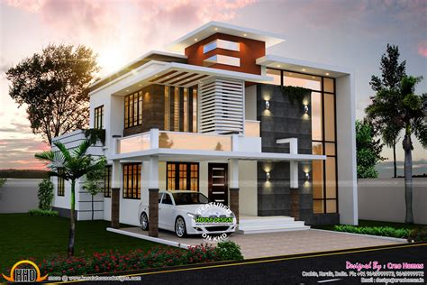 Modern Houses : June-kerala Home Design And Floor Plans