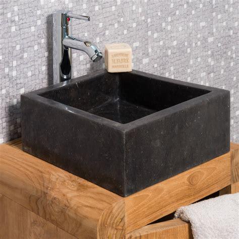 vasque 224 poser en marbre milan ronde d 30 cm