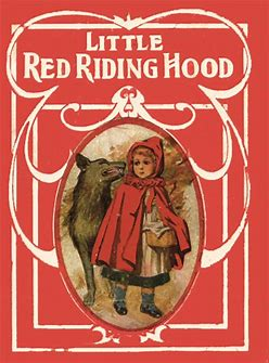 Image result for images little red riding hood original cover