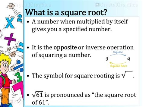 Square Root Lecture