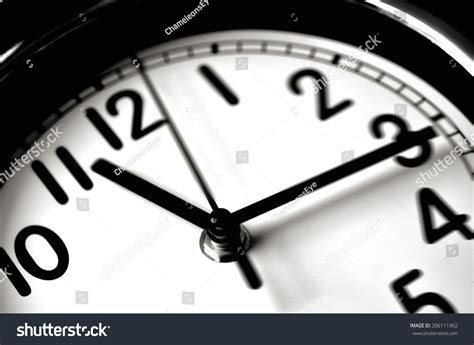 Time Passing Over Face Home Office Stock Photo 206111902