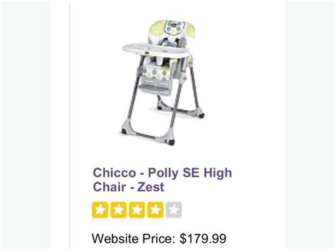 chicco polly zest high chair city