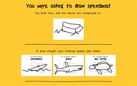 Speedboat Quick Draw by This Google Powered Ai Can Identify Your Terrible Doodles