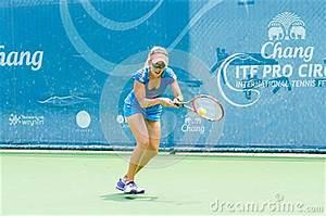 Chang ITF Pro Circuit 2015 Editorial Photography - Image ...