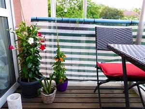 Sonnensegel Kleinen Balkon : kleinen balkon gestalten ideen zur versch nerung ~ Markanthonyermac.com Haus und Dekorationen