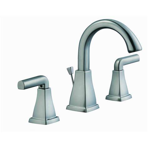 glacier bay brookglen 8 in widespread 2 handle high arc bathroom faucet in brushed nickel