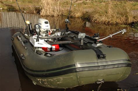 Inflatable Carp Fishing Boats by Bison Marine Olive Green Inflatable Fishing Sports Air Rib